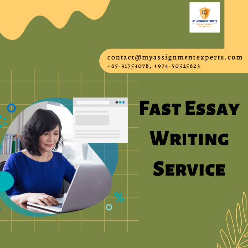 Avail Fast Essay Writing by Professional Essay Writer in Australia, USA, and UK