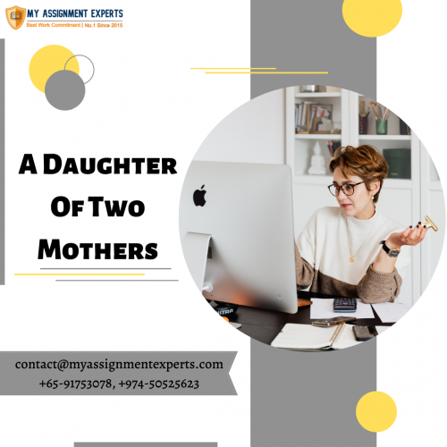 A free comparison assignment on the topic of two mothers