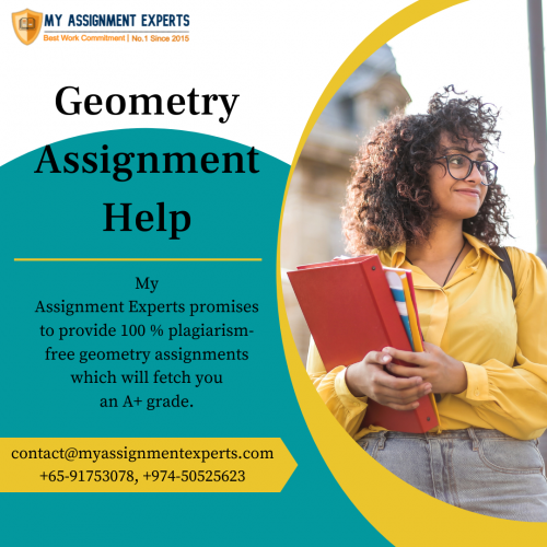 Geometry Assignment Help in Australia, UK, and USA by Top Experts
