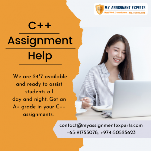 C++ Assignment Help in Australia, UK, and USA  Get 25% Off