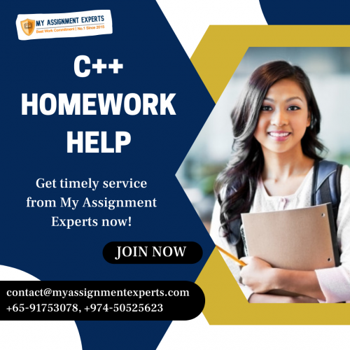 C++ Assignment Help in Australia, UK, and USA |Get 25% Off